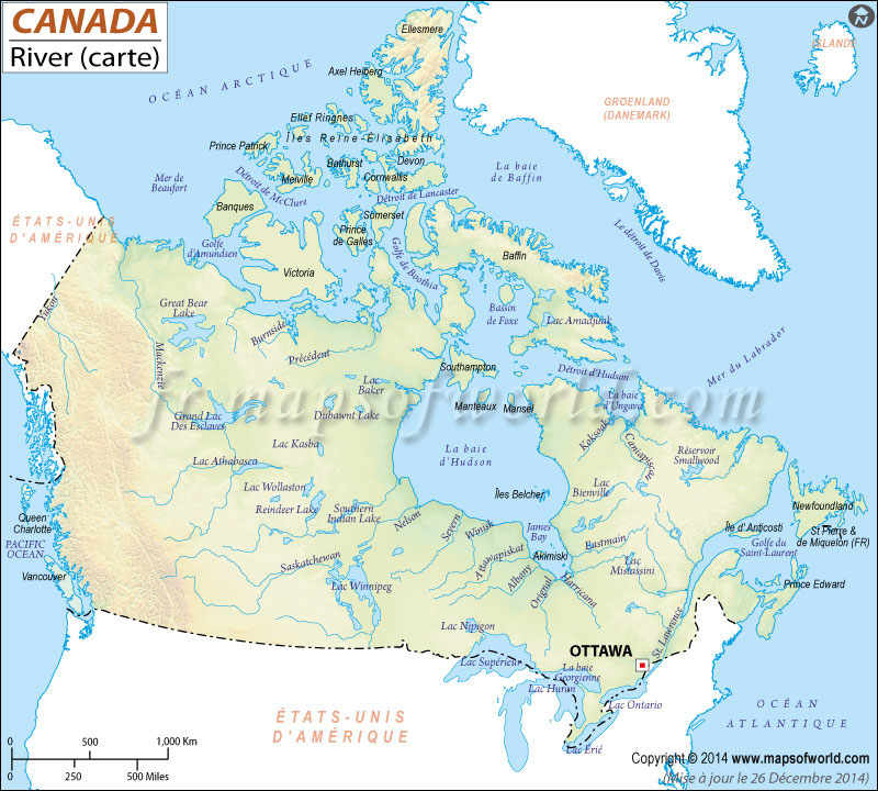 Rivers au Canada