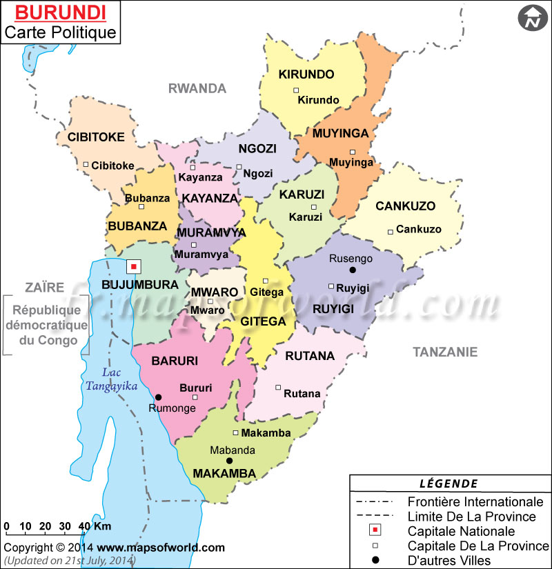 Gitega Burundi::PLAN & MAP & COUNTRY