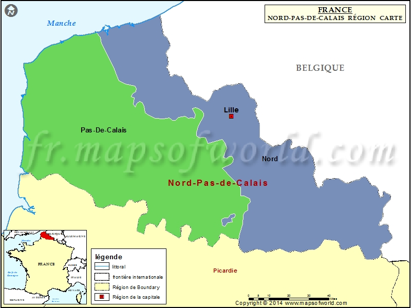 carte de la r gion nord pas de calais d partements les grandes villes du nord pas de calais 31. Black Bedroom Furniture Sets. Home Design Ideas