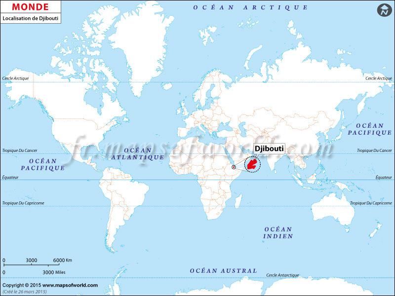 Où est Djibouti