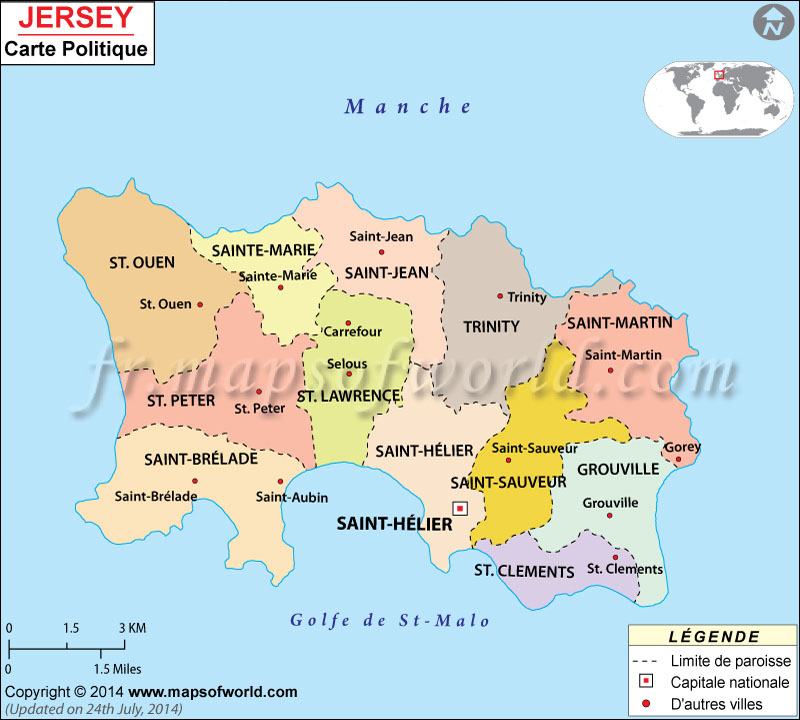 Jersey Carte