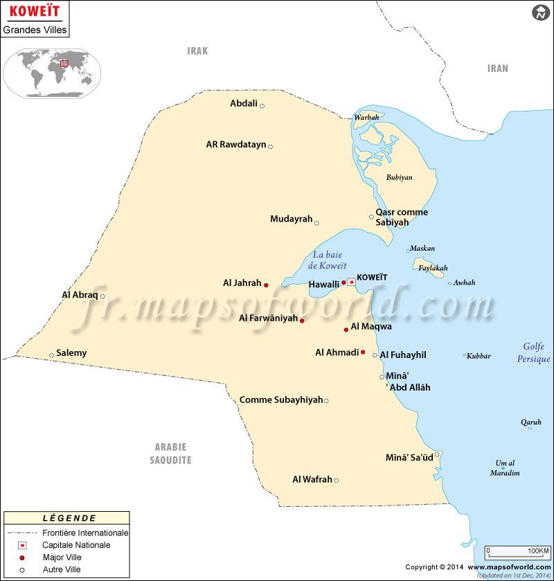 Villes à Koweït