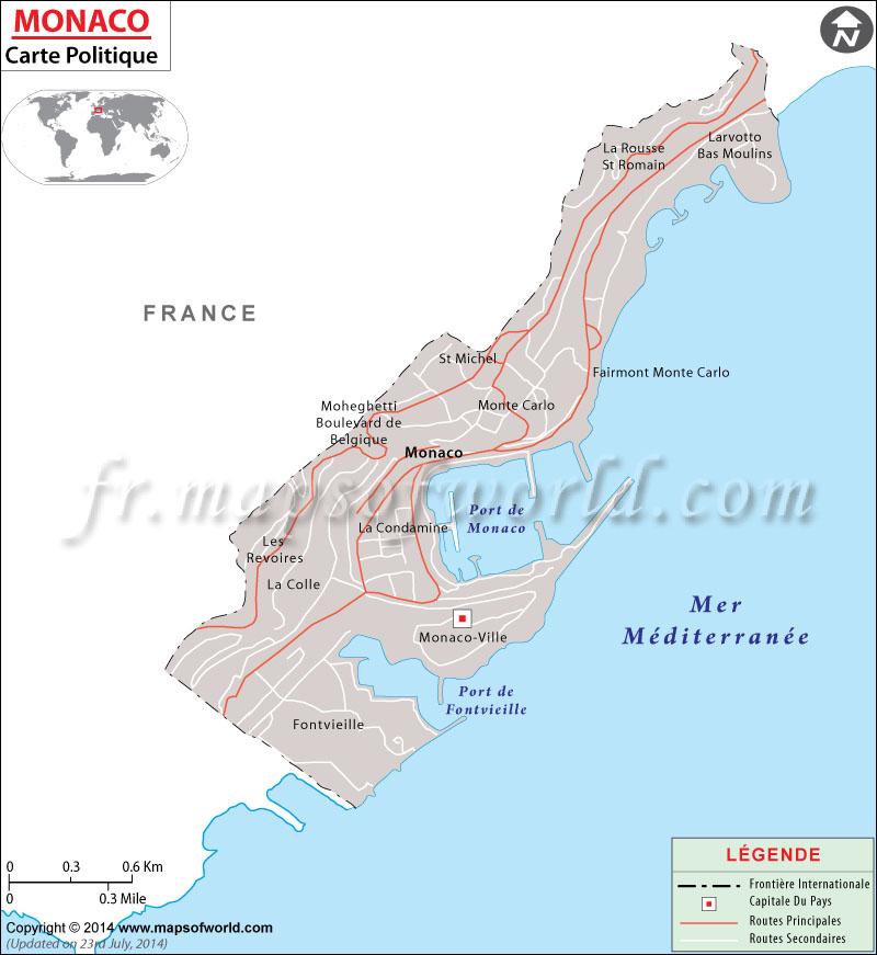Monaco Carte