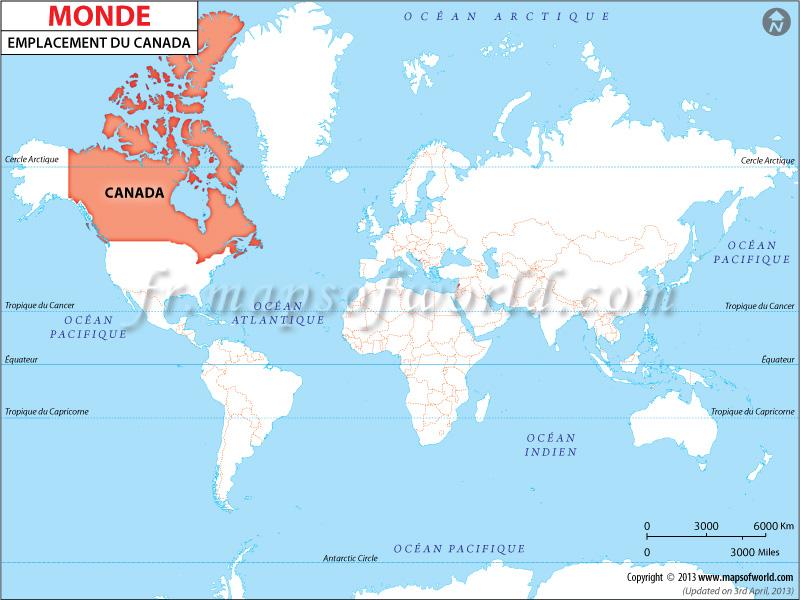 Où est le Canada, Le Canada dans le Monde