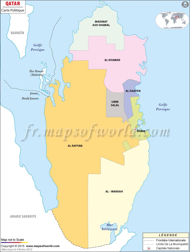 Qatar Carte