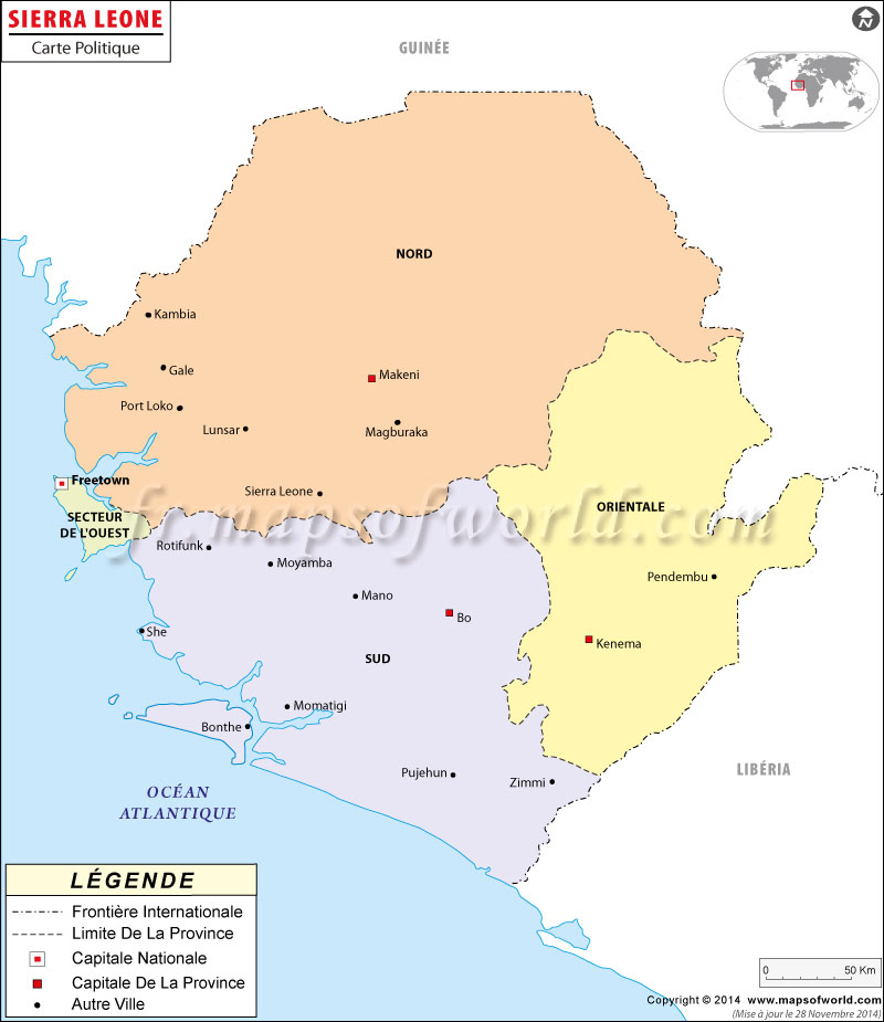 Sierra Leone Carte