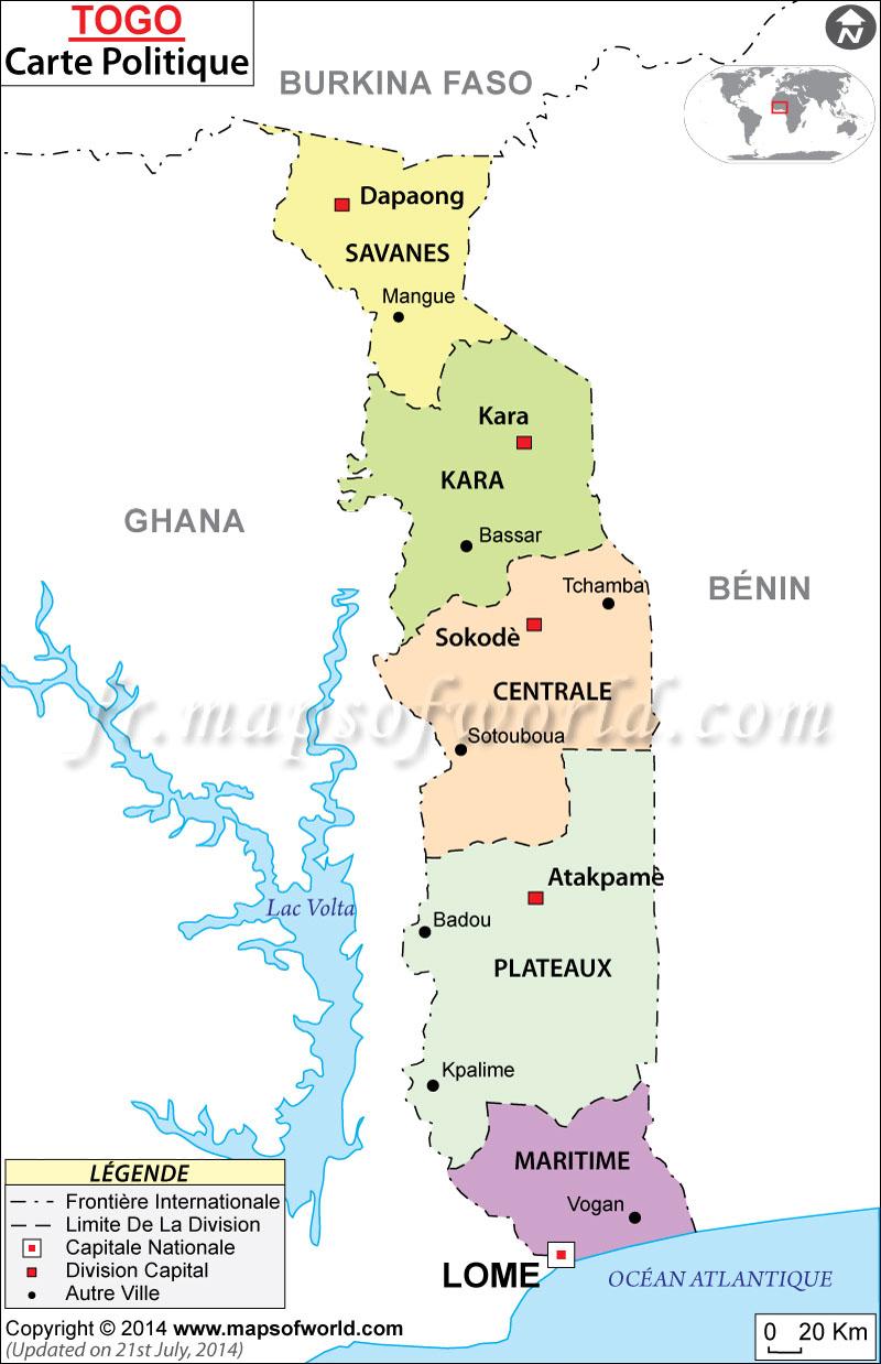 Togo Carte