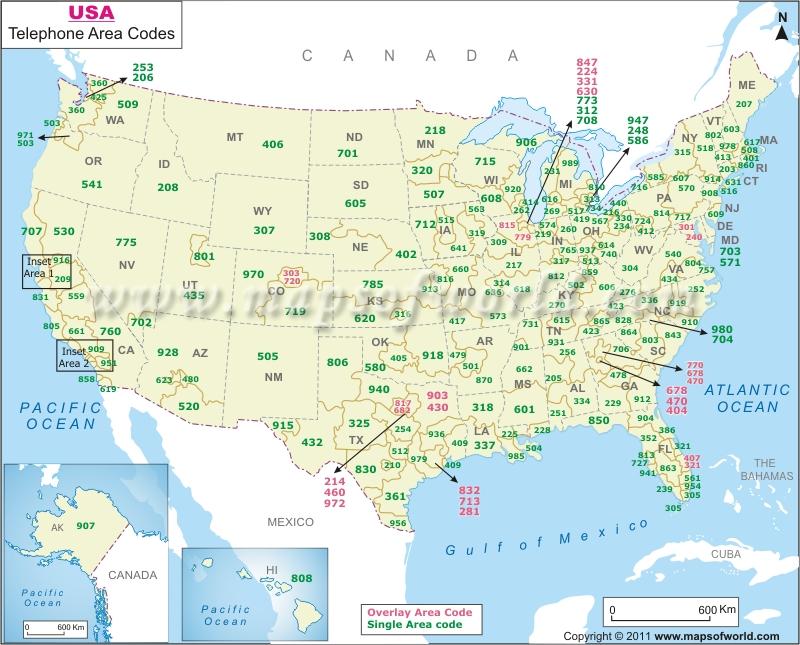 indicatifs régionaux