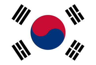 Drapeau de Corée du Sud