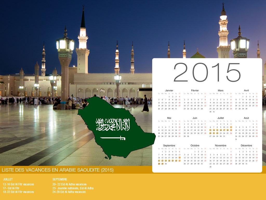 Saudi Arabia Holiday Calendar-800x600