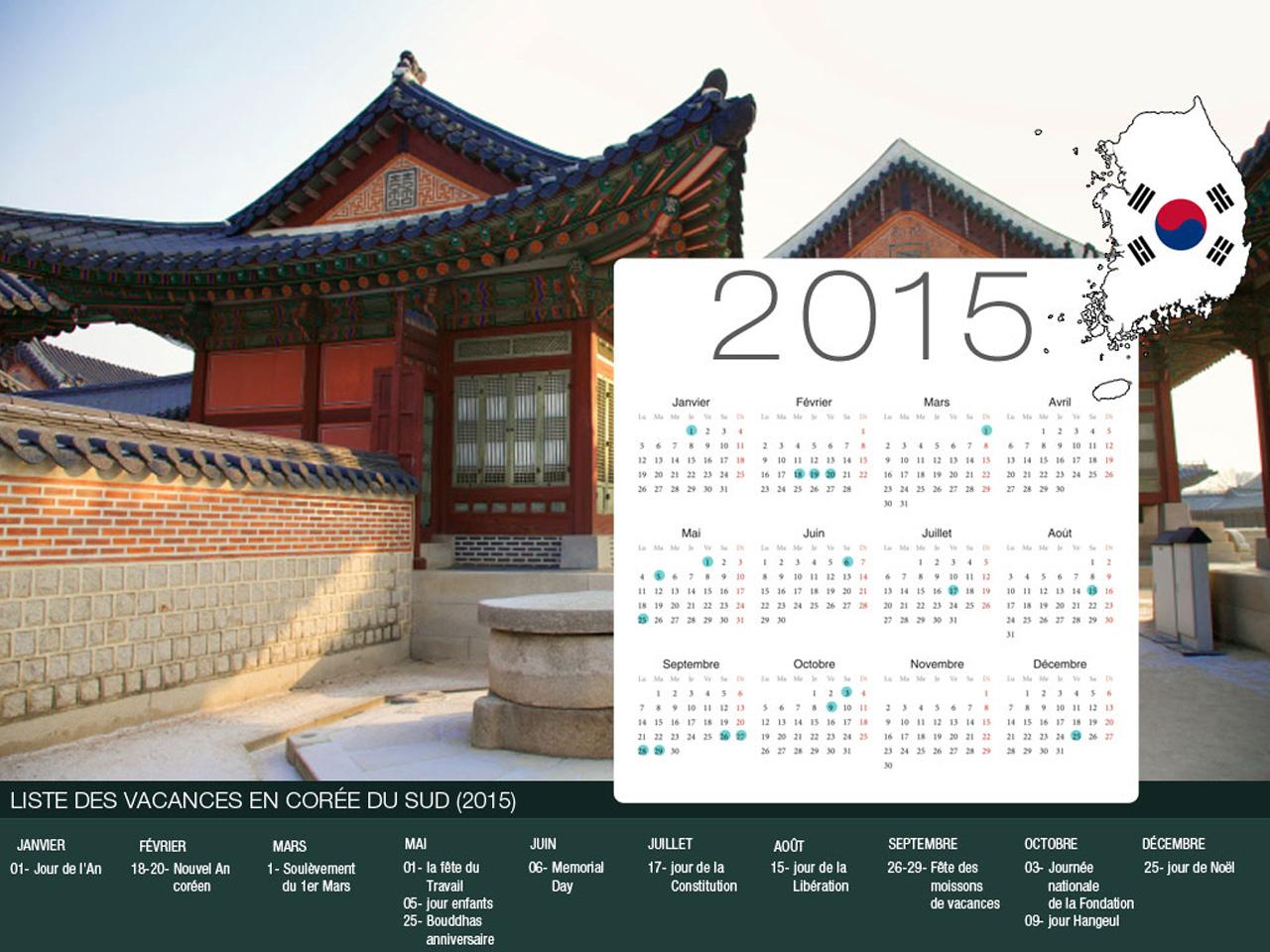 Korea Holiday Calendar