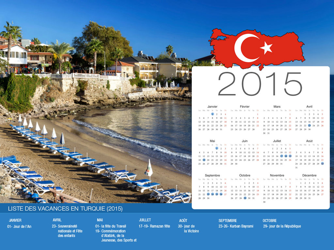 Turkey Holiday Calendar