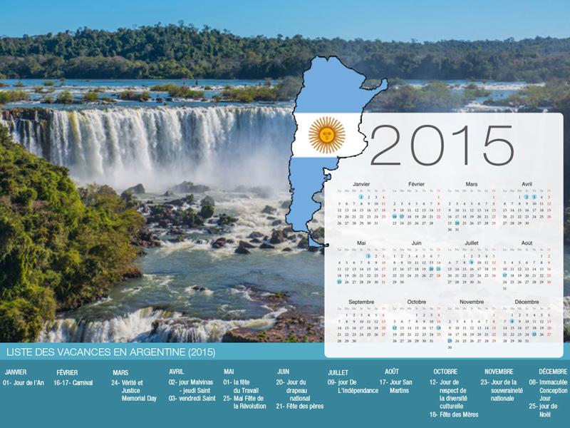 Calendrier de vacances Argentine-800x600