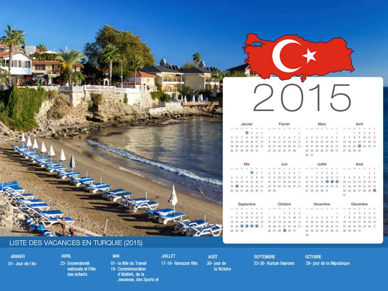 Calendrier de vacances Turquie-800x600