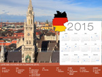 Calendrier de Vacances Allemagne 2015