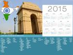 Calendrier de Vacances Inde 2015