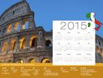 Calendrier de Vacances Italie 2015