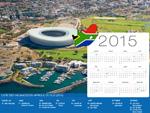 Calendrier de Vacances Afrique du Sud 2015