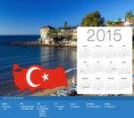 Calendrier de Vacances Turquie 2015