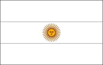 Drapeau de l 39 argentine drapeau de l 39 argentine - Drapeau argentine coloriage ...