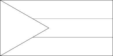 Bahamas Flag Dimensions