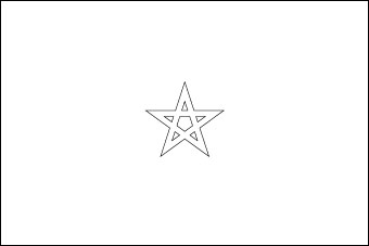 Drapeau de Maroc