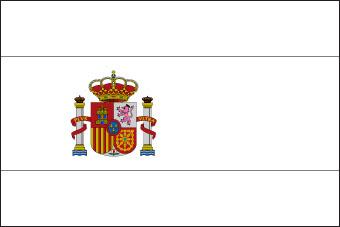 Drapeau de espagnol drapeau espagne - Coloriage drapeau espagne ...