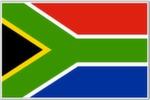Afrique du-sud Drapeau