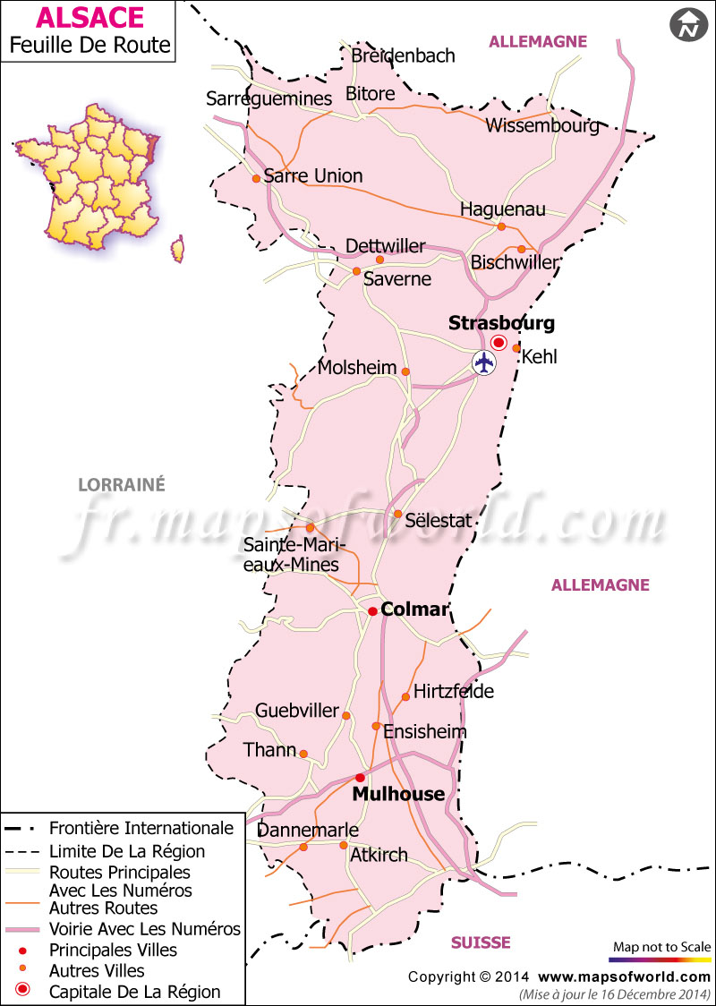 Alsace Feuille de Route