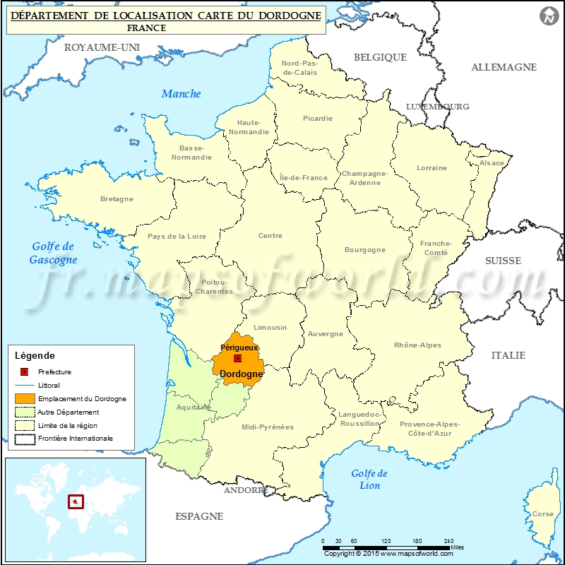 carte-de-france-dordogne