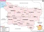 Carte Routière Picardie