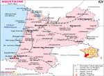 Aquitaine Railway Carte