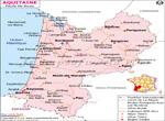 Aquitaine Carte Routière