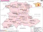 Carte Routière Auvergne