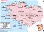 Bretagne Carte Routière