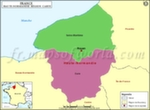 Carte de Haute-Normandie