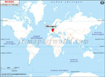 Carte de localisation du Allemagne sur la carte mondiale