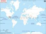 Carte de localisation du Belize sur la carte mondiale