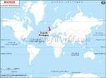 Carte de localisation du Bretagne sur la carte mondiale
