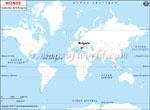 Carte de localisation du Bulgarie sur la carte mondiale