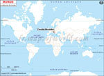 Carte de localisation du Croatie sur la carte mondiale
