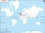 Carte de localisation du Espagne sur la carte mondiale