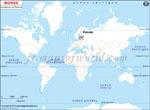 Carte de localisation du Estonie sur la carte mondiale