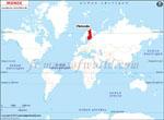 Carte de localisation du Finlande sur la carte mondiale