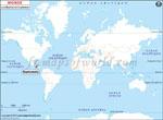 Carte de localisation du Guatemala sur la carte mondiale