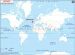 Carte de localisation du Guernesey sur la carte mondiale