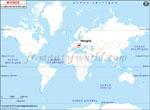 Carte de localisation du Hongrie sur la carte mondiale