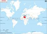Carte de localisation du Libye sur la carte mondiale