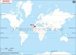 Carte de localisation du Maroc sur la carte mondiale