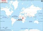 Carte de localisation du République centrafricaine sur la carte mondiale